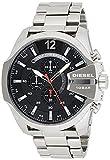 Diesel Herren Chronograph Quarz Uhr mit Edelstahl Armband DZ4308*
